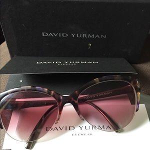 David Yurman tinted prescription glasses